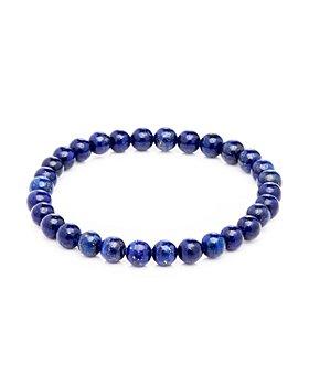 LINK UP - Lapis Beads Elastic Bracelet