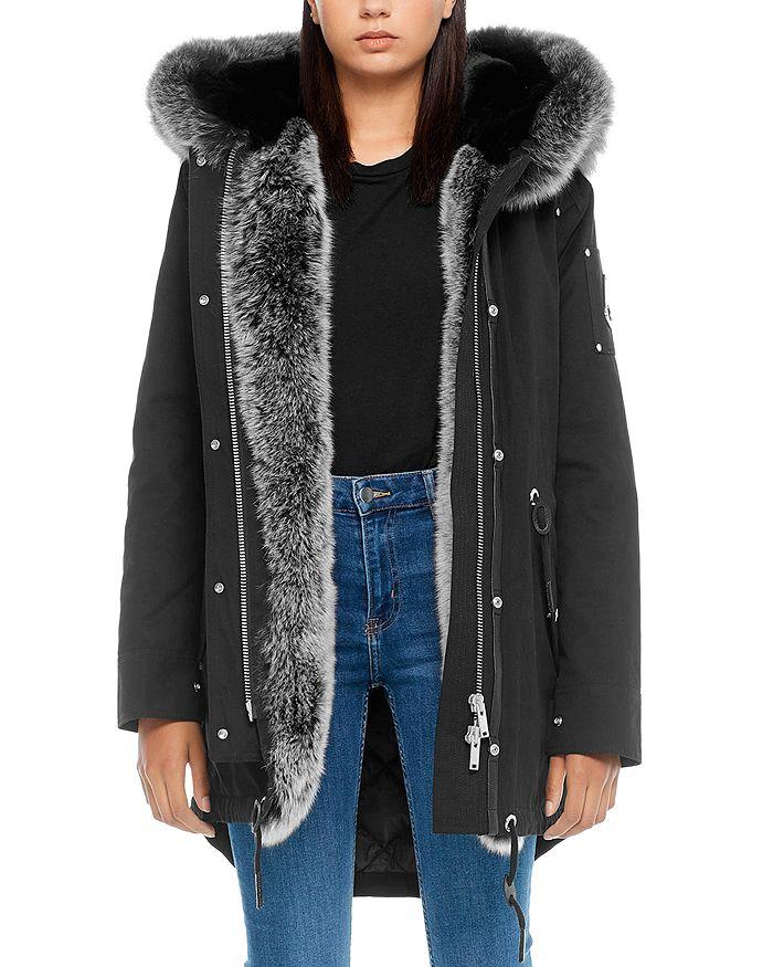 Moose Knuckles - Steller Canvas Fur-Trim Down Parka