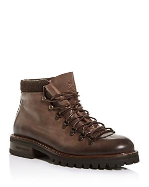 Bruno Magli Boots ALPINO LEATHER BOOTS