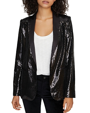 Sanctuary Blazers SHINE ON SEQUIN BLAZER