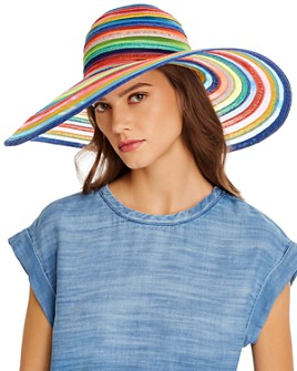 Eugenia Kim - Bunny Rainbow-Stripe Hat