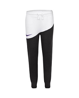 Nike - Boys' Color-Block Swoosh Pants - Little Kid