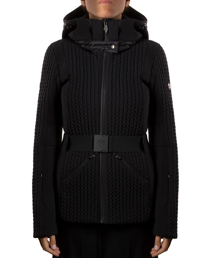 Post Card Olympic Ski Coat In Black