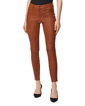 J Brand - Skinny Leather Pants