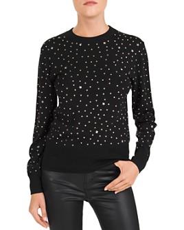 The Kooples - Studded Crewneck Sweater