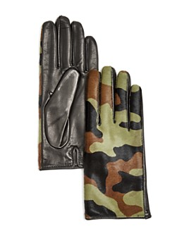 Bloomingdale's - Cashmere-Lined Calf Hair Gloves - 100% Exclusive