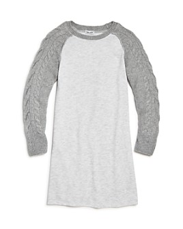 Splendid - Girls' Mixed-Media Knit Dress - Big Kid