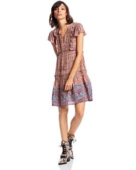 LINI - Sadie Ruffled Pintuck Dress - 100% Exclusive