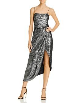 Derek Lam 10 Crosby - Lexis Asymmetric Sequin Dress