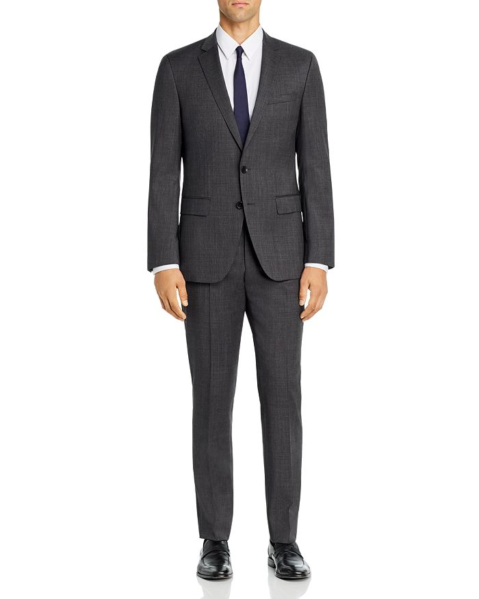 BOSS - Huge/Genius Birdseye Weave Slim Fit Suit
