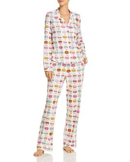 Jane & Bleecker New York - Printed Long Pajama Set