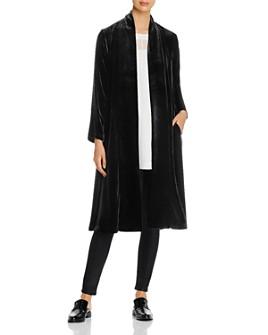 Eileen Fisher - Velvet Duster Jacket