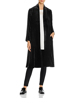 Eileen Fisher Jackets VELVET DUSTER JACKET