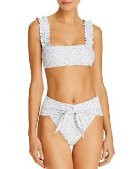 WeWoreWhat - Como Bikini Top & Riviera Bikini Bottom