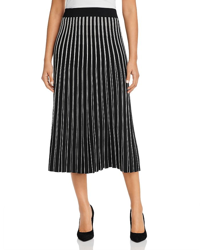 Tory Burch - Striped Knit Skirt