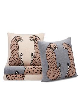 AQUA - Cheetah Decorative Pillows & Throws - 100% Exclusive
