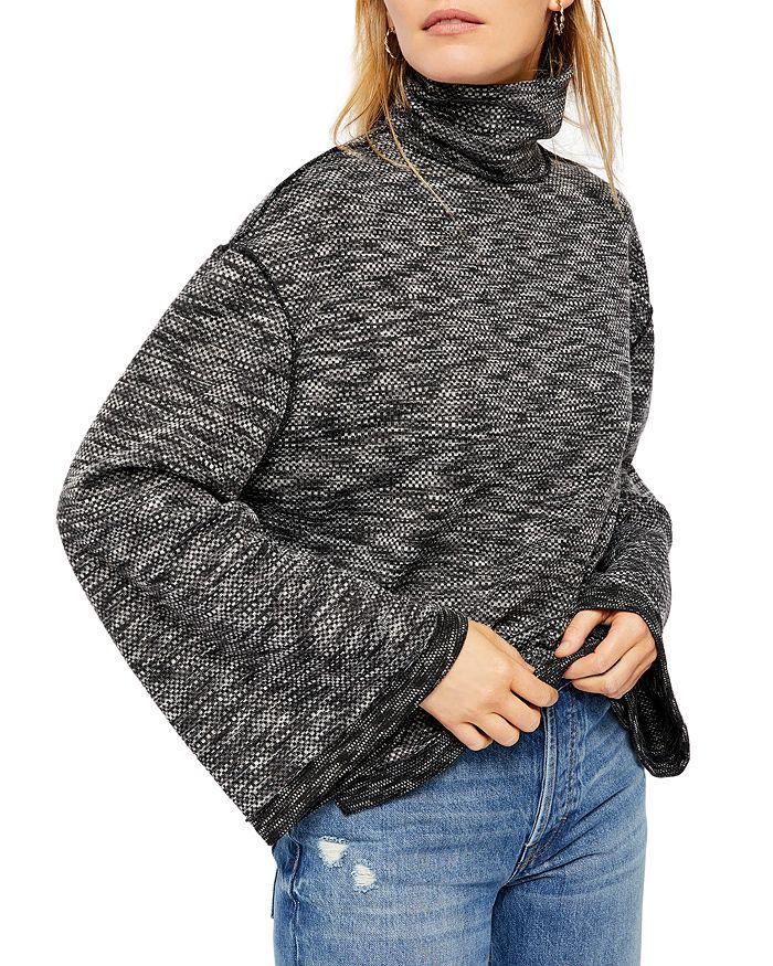 Free People - Sunny Days Space-Dye Turtleneck Sweater