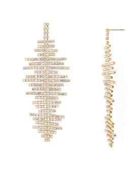 AQUA - Crystal Drop Earrings - 100% Exclusive