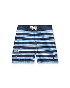 Ralph Lauren - Boys' Kailua Striped Swim Trunks, Baby - 100% Exclusive