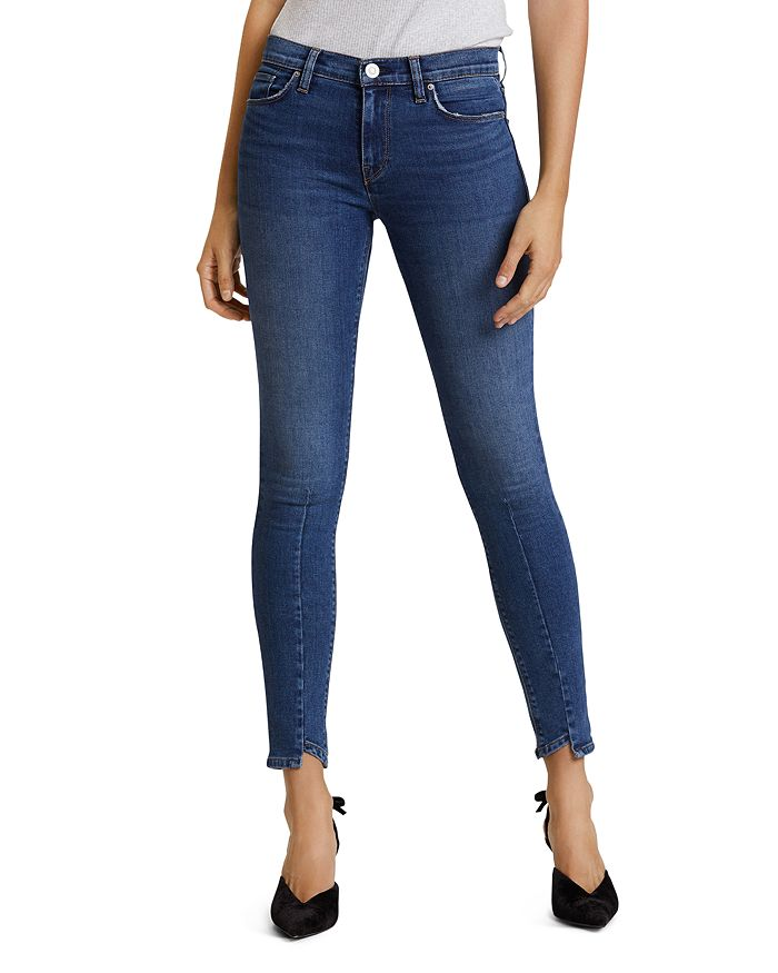 Hudson - Nico Mid Rise Super Skinny Jeans in Nowhere