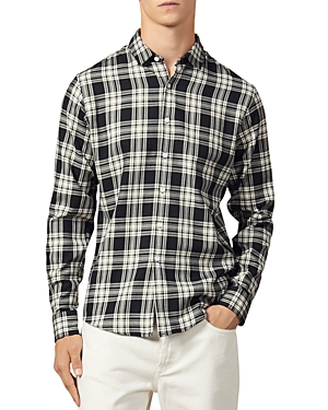 Sandro T-shirts MANCHESTER SLIM FIT BUTTON-DOWN SHIRT