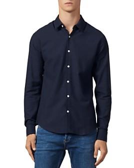 Sandro - Supra Flannel Slim Fit Button-Front Shirt