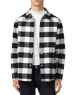 Sandro - Checked Lumber Jacket