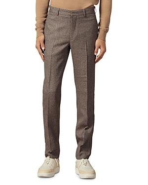 Sandro Houndstooth Slim Fit Suit Pants-Men
