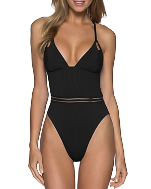 Queensland High Leg One Piece Swimsuit