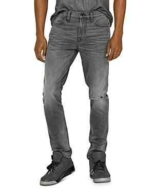 Hudson Jeans SKINNY FIT JEANS IN GRAYS