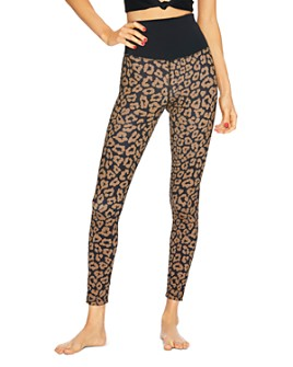 Beach Riot - High-Rise Leopard Print Leggings