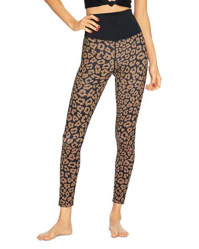Beach Riot - High-Rise Leopard Print Leggings