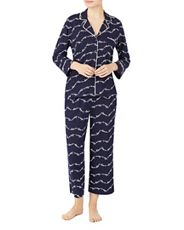 kate spade new york - Printed Cropped Pajama Set