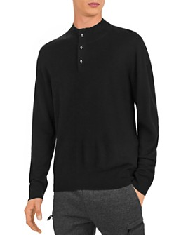 The Kooples - Skull-Button Pullover Sweater