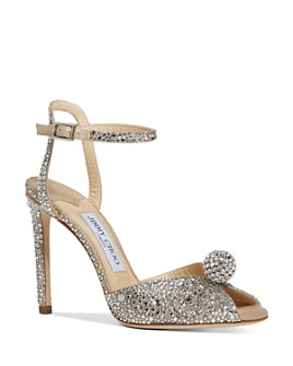 Jimmy Choo - Women's Sacora 100 Embellished High-Heel Sandals