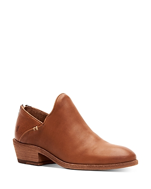 Frye Boots WOMEN'S CARSON LEATHER ANKLE BOOTIES