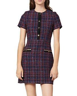 Sandro - Chela Tweed Mini Dress