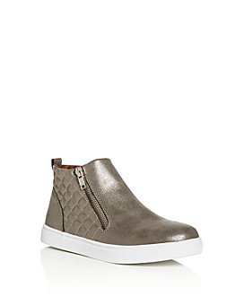 STEVE MADDEN - Girls' JReggie Mid-Top Sneakers - Little Kid, Big Kid