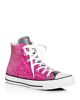 Converse - Women's Chuck Taylor All Star Glitter High-Top Sneakers