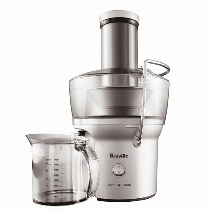 Breville - Juice Fountain Compact Juice Extractor by Breville