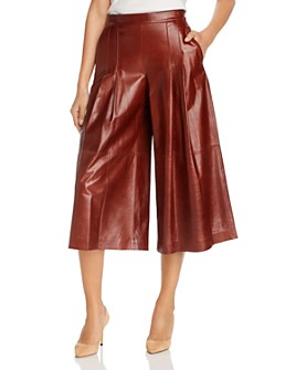 Lafayette 148 New York - Arthur Leather Culottes