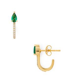Argento Vivo - Wrap Stud Earrings in 18K Gold-Plated Sterling Silver