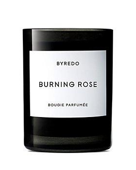 BYREDO - Burning Rose Fragranced Candle