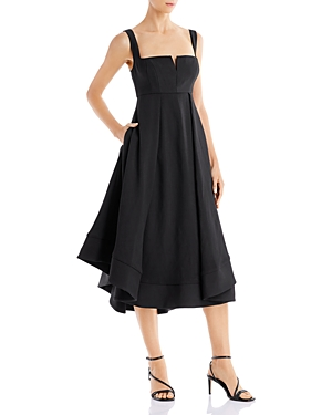 C/Meo Collective Statement Fit-and-Flare Midi Dress