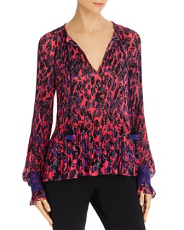 Derek Lam 10 Crosby - Helena Pleated Blouse