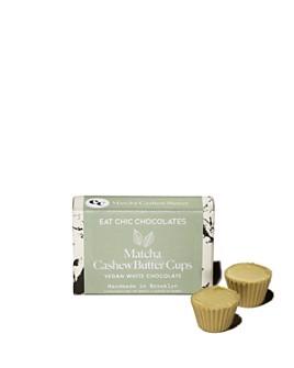 Eat Chic Chocolates - Matcha Vegan Cashew Butter Cups