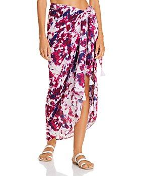 AQUA - Sarong Skirt Swim Cover-Up - 100% Exclusive