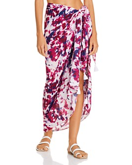AQUA - Sarong Skirt Swim Cover-Up - 100% Exclusive