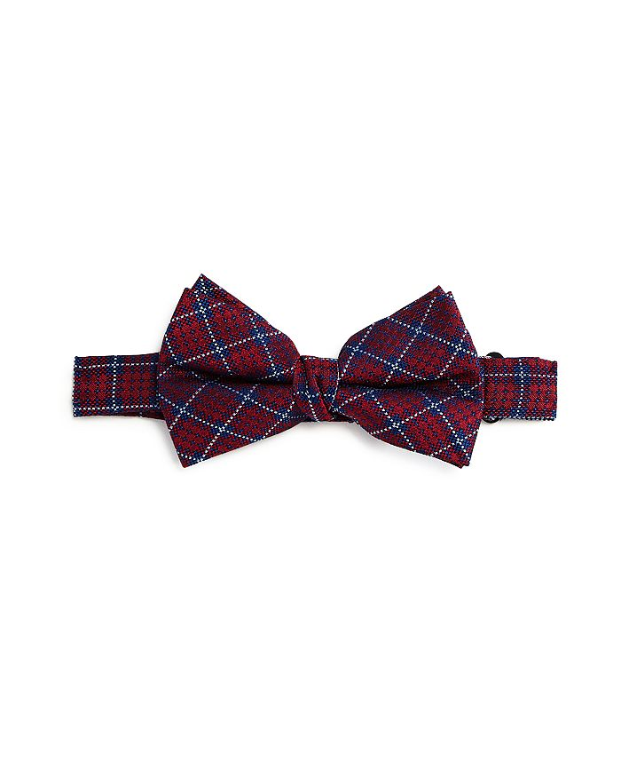 Michael Kors - Boys' Tartan Silk Bow Tie