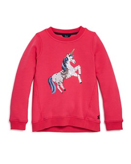 Joules - Girls' Voila Unicorn Sweatshirt - Little Kid, Big Kid